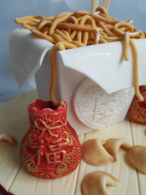 Chinese-Takeaway-cake-dcorating-tutorial-side-view