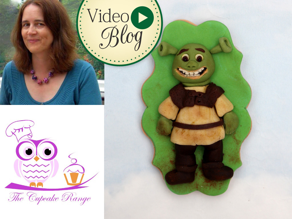 Shrek Cookie Video Tutorial by Sarah Harris